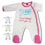 Pyjama bébé garçon personnalisé