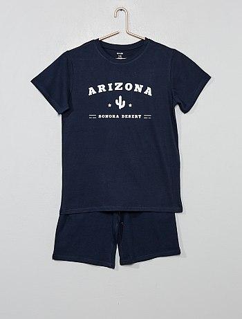 Pyjama ado garçon pas cher