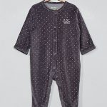 Lot pyjama bebe velours