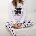 Pyjama femme imprimé