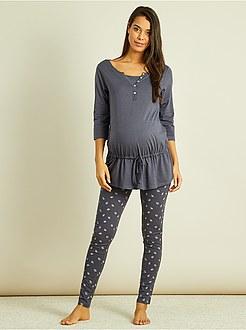 Pyjama allaitement discount