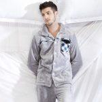 Pyjama homme chaud polaire