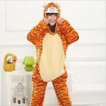 Combinaison pyjama femme tigrou