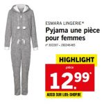 Combinaison pyjama femme carrefour