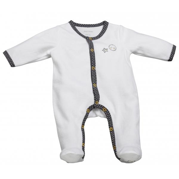 Pyjama bébé blanc naissance
