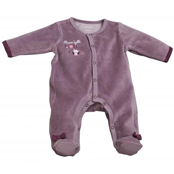 Pyjama bebe violet