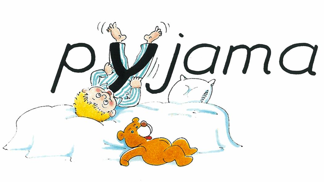 Pyjama orthographe