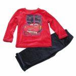 Pyjama cars velours
