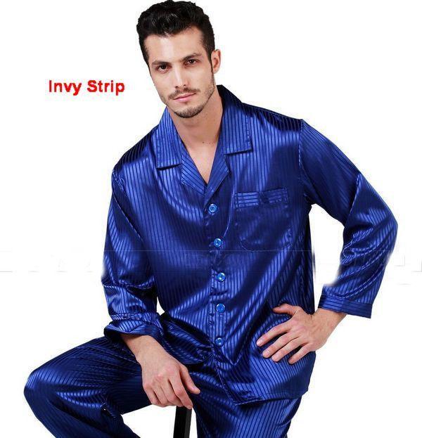Pyjama homme soie satin