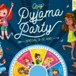 Jeux pyjama party