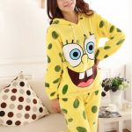Pyjama bob l'éponge combinaison