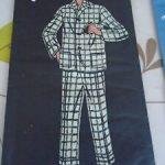 Pyjama homme vintage
