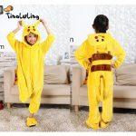 Pyjama bebe pikachu