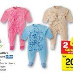 Pyjama bébé disney carrefour