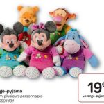 Range pyjama minnie carrefour