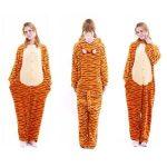 Pyjama tigrou adulte