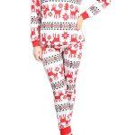 Pyjama renne femme