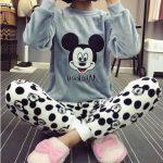 Pyjama mickey femme