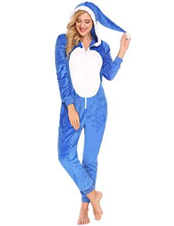 Pyjama combinaison capuche