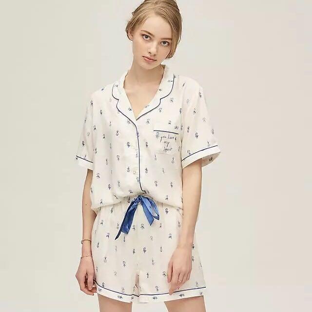 Chemise pyjama mode