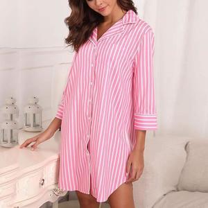 Pyjama femme robe coton