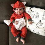 Pyjama capuche bebe