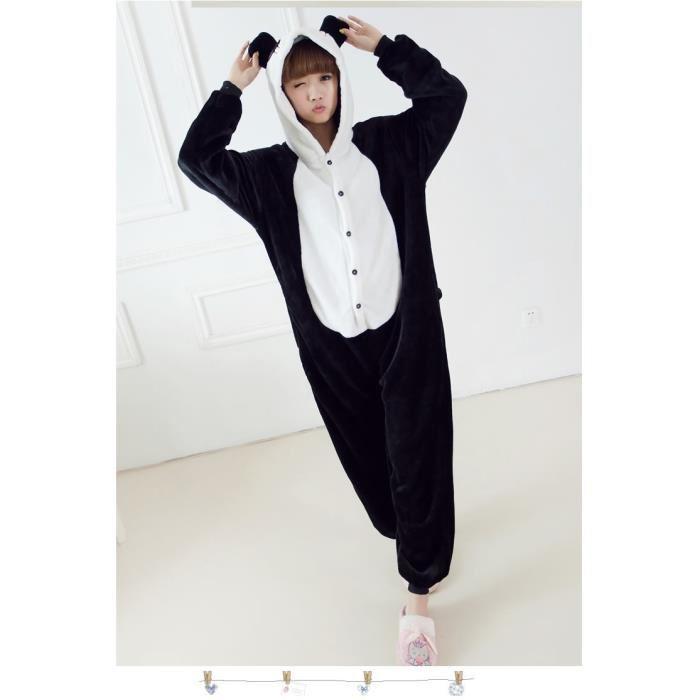 Combinaison polaire pyjama adulte